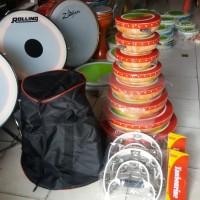 genjring / rebana Qasidah keramik susun 8