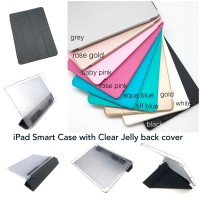 iPad Smart Case with Clear Jelly Backcover