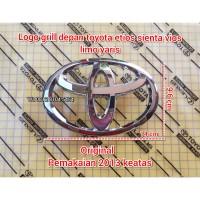 logo emblem grill depan toyota etios sienta all new yaris vios limo