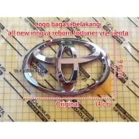 logo emblem belakang toyota all new innova reborn fortuner vrz sienta