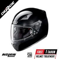 Helm Nolan N60-5 N605 SPECIAL Col. 012 (METAL BLACK) SNI