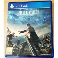 GAME PS4 FINAL FANTASY XV DAY ONE EDITION