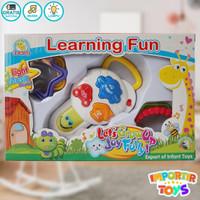 Mainan Edukasi Bayi, Happy Buddy, dengan Musik Lucu dan Lampu