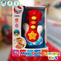 Mainan Musikal Anak Guitar Colourful Lucu Dan Menarik