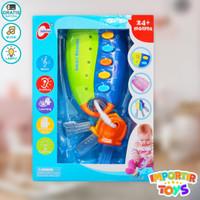 LockLock Mainan Edukasi Anak Bayi dengan Lagu dan Permainan - Biru Muda