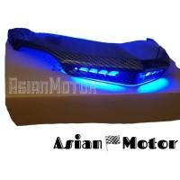 Ducktail Nmax Carbon LED NEMO/ Sirip Lampu Belakang Nmax LED NEMO