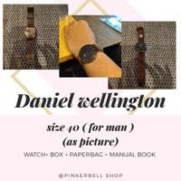 jam tangan daniel wellington original 100%