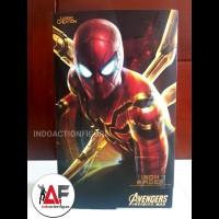 RARE Action figure Iron Spider Spiderman Legend creation ORI 1/6 MMS