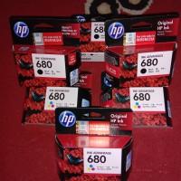 tinta original hp ink advantage 680 black & tri colour