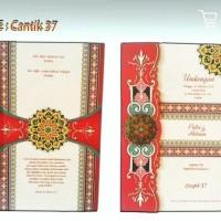 Blanko UNDANGAN pernikahan CANTIK 37