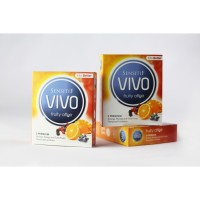 Kondom VIVO Fruity Affair 1 Box 3 Pcs Rasa Jeruk, Mangga, Buah-buahan