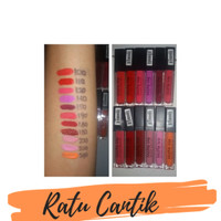 NYX MATTE ME LIP CREAM / Lipgloss Creamy Replica Sleek ..Terlaris