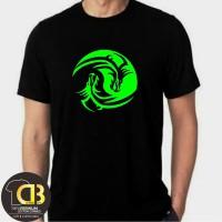 T-Shirt Kaos Baju Distro Pria Wanita Dragon Lengan Pendek 065