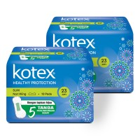 Kotex Healthy Protection Slim Non Wing 10s 2 Pack