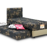 Spring Bed Tempat Tidur Musterring Vienna 2in1 Coffee HB MH6 90 Set