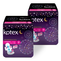 Kotex Overnight PAG 32 cm 9s 2 Pack