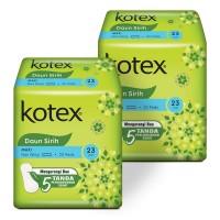 Kotex Daun Sirih Maxi Non Wing 20s 2 Pack