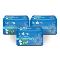 Kotex Healthy Protection Maxi Non Wing 10s 3 Pack