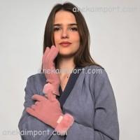 Sarung Tangan Katun Touch Screen Musim Dingin Wanita 303
