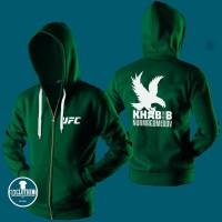Jaket Hoodie Zipper Ufc Khabib Nurmagomedov 001 - 313 Clothing