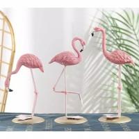 Ornamen Flamingo Pajangan Scandinavian Tropical / Hiasan Dekorasi