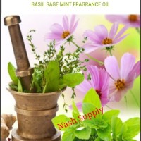 Basil Sage Mint Fragrance Oil