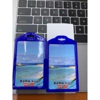 id card holder name tag gantungan 2muka/sisi case