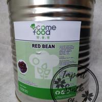 Come Food Topping Minuman Red Bean/ Topping Kacang Merah 2.1 Kg Taiwan