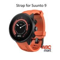Strap for Suunto 9 BARO watch - Tali jam sport Suunto - ORANGE
