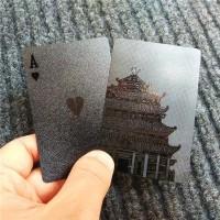 Black Diamond Kartu Poker Remi Plastik Waterproof Premium HQ *9K14