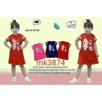 Dress Lol Surprise 338 /Dress Anak /Terusan Anak Lol /Baju Anak