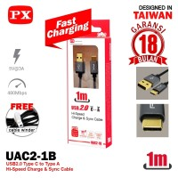 Kabel USB TYPE C Charger and DATA PX 1M / PX Kabel Charger USB TYPE C