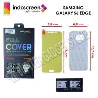 Hikaru Screen Protector Full Cover Samsung Galaxy S6 Edge (Full Set)