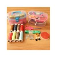 Sewing Kit Set Box Alat Jahit 15 in 1
