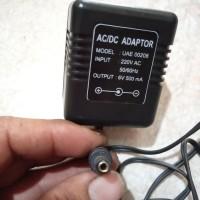 charger timbangan 6 volt 500 Ma