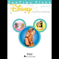 FunTime Disney Level 3A 3B Faber Piano Adventures