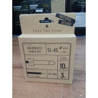 Free The Tone SL-4S-NI-10K Straight Plug Solderless cable kit