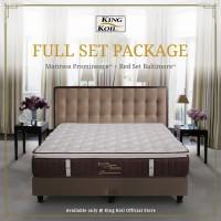 King Koil Kasur Springbed Prominence Full Set - King (180x200)