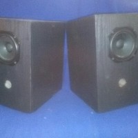 Sepasang speaker wide band single driver 4 inch DIY