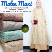 Gamis Maxi Baju Muslim Wanita Malea Original