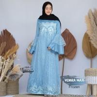Baju Gamis Wanita Terbaru Maxi Venira Frozen