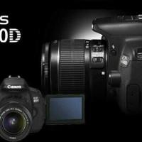 KAMERA CANON EOS 650D KIT 18-55MM