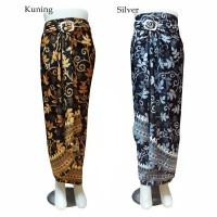 Rok Lilit Batik, Bawahan Kebaya motif Daun Paya (nh) - Paya Silver