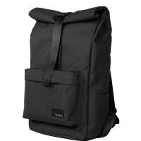 Nama Studios Lite 322 Roll Top Backpack Black Tas Ransel Pria