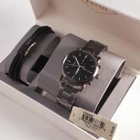 Jam Tangan Fossil FS5400 Gift Set Gelang