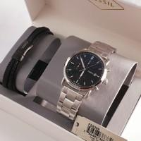 Jam Tangan Fossil FS5399 Gift Set Gelang