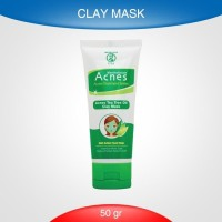 Acnes Tea Tree Oil Clay Mask ( MAP ) 50 gr