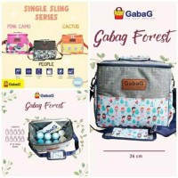 Gabag people pink camo cactus tas asi cooler bag single sling series