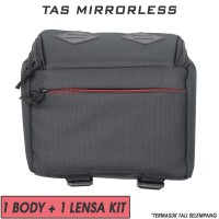 Tas Kamera Lensa / Camera Bag Mirrorless DSLR - Canon Nikon Sony Fuji