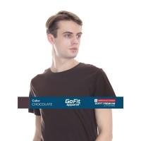 GoFit Premium Cotton 8600 CHOCOLATE size S